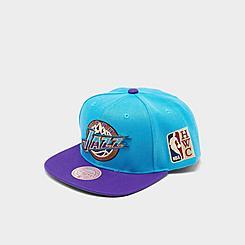 Mitchell & Ness Utah Jazz NBA Patch N Go HWC Snapback Hat