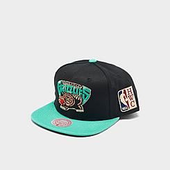 Mitchell & Ness Memphis Grizzlies NBA Patch N Go HWC Snapback Hat
