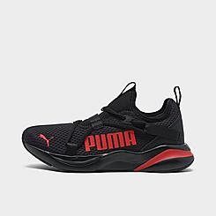 Boys' Big Kids' Puma Softride Rift Color Pop Slip-On Training Shoes