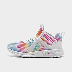 Girls' Big Kids' Puma Enzo Tie-Dye Training Shoes