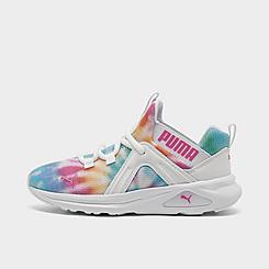 Girls' Little Kids' Puma Enzo Tie-Dye Training Shoes