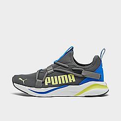 Boys' Big Kids' Puma Softride Rift Color Pop Slip-On Training Shoes