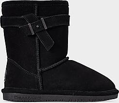 Girls' Little Kids' Bearpaw Val Suede Boots