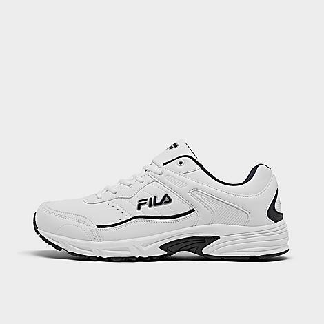 Fila Men's Memory Sportland Casual Shoes in White/White Size 13.0 Leather Low-profile, chunky sneakers Lace-up closure for comfort Leather upper with overlays and stitching for durability Cushioned comfort midsole Durable traction outsole The Fila Memory Sportland is imported. Built for extreme comfort, the Men's Fila Memory Sportland Casual Shoes are perfect for walking, light activity and all-day comfort. Pair them with just about anything and experience the ultra-cushiony comfort you crave! Size: 13.0. Color: White. Gender: male. Age Group: adult. Fila Men's Memory Sportland Casual Shoes in White/White Size 13.0 Leather