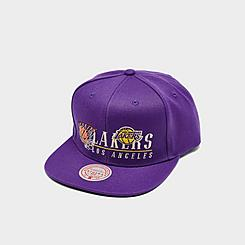 Mitchell & Ness Los Angeles Lakers NBA Vintage 2 Snapback Hat