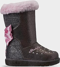 Girls' Toddler Skechers Twinkle Toes: Glitzy Glam - Cozy Cuties Boots