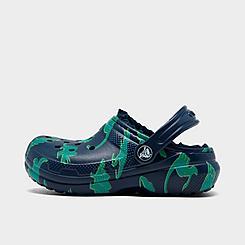 Boys' Toddler Crocs Dino Lined Clog Shoes