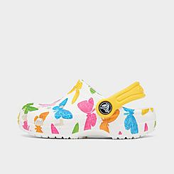 Girls' Toddler Crocs Classic Vacay Vibes Clogs Shoes