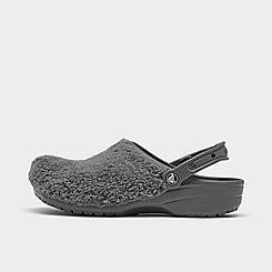 Crocs Classic Fuzz Mania Clog Shoes
