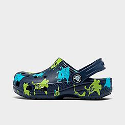 Boys' Toddler Crocs Classic Monster Print Clog Shoes
