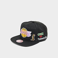 Mitchell & Ness Los Angeles Lakers Hyperlocal HWC Snapback Hat