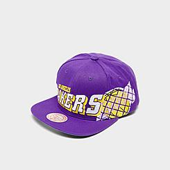 Mitchell & Ness Los Angeles Lakers The Grid Snapback Hat