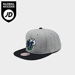 Mitchell & Ness Dallas Mavericks NBA Heathered Grey Hardwood Classics Pop Snapback Hat