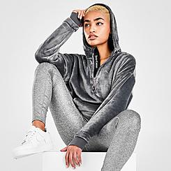 Women's Juicy Sport Sherpa Half-Zip Hoodie