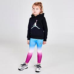 Girls' Toddler Jordan Essentials Ombre Hoodie and Leggings Set