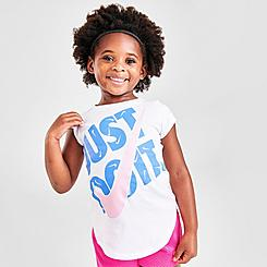 Girls' Toddler Nike JDI Swooshfetti T-Shirt