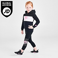 Girls' Toddler Nike Futura Pullover Hoodie and Leggings Set