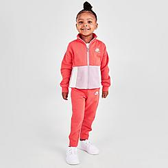 Girls' Toddler Nike Heritage Full-Zip Track Jacket and Jogger Pants Set