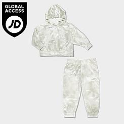 Girls' Toddler Nike Velour Hoodie and Jogger Pants Set