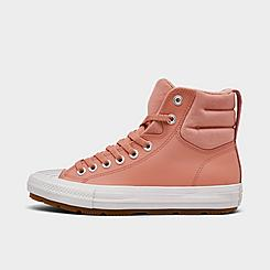 Girls' Big Kids' Converse Chuck Taylor All Star Berkshire Leather High Top Casual Boots