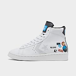 Big Kids' Converse X Nike Pro Leather High Top Casual Shoes