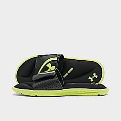 Boys' Big Kids' Under Armour UA Ignite VI Slide Sandals