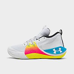Big Kids' Under Armour Embiid One Draft Night Basketball Shoes