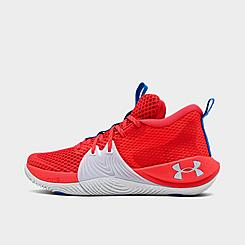 Big Kids' Under Armour Embiid One Basketball Shoes