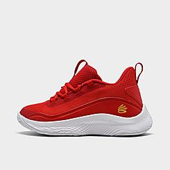 Little Kids' Under Armour Curry 8 Basketball Shoes