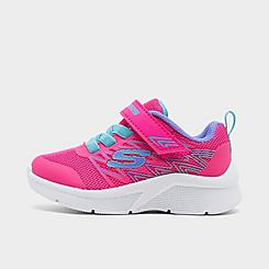 Girls' Toddler Skechers Microspec - Bold Delight Casual Shoes
