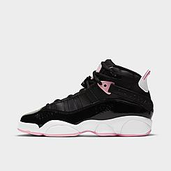 Girls' Big Kids' Air Jordan 6 Rings Basketball Shoes