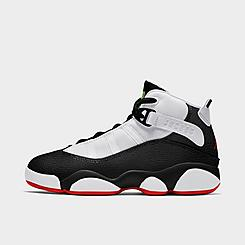Boys' Little Kids' Air Jordan 6 Rings Basketball Shoes