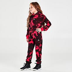 Girls' Little Kids' Jordan Essentials Print Jogger Sweatpants