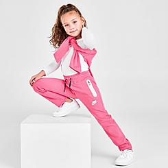 Girls' Little Kids' Nike Sportswear Tech Fleece Pants