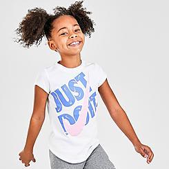 Girls' Little Kids' Nike JDI Swooshfetti T-Shirt
