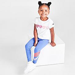 Girls' Little Kids' Nike Icon Clash Leggings