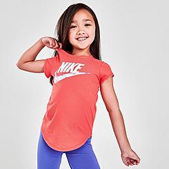 Girls' Little Kids' Nike Mini Monogram T-Shirt