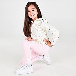 Girls' Little Kids' Nike BFF Therma-FIT Full-Zip Hoodie and Leggings Set
