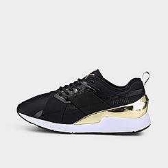 Women's Puma Muse X-2 Metallic Casual Shoes