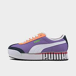 Women's Puma Roma Amor Logo Casual Shoes