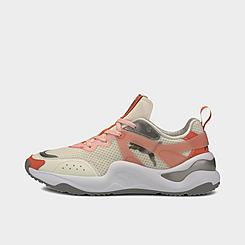 Women's Puma Rise Mixed Metallic Casual Shoes