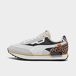 Women's Puma Future Rider Wildcats Animal Print Casual Shoes