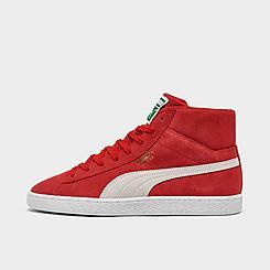 Men's Puma Suede Mid XXI Casual Sneakers