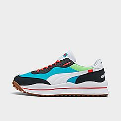 Men's Puma Style Rider Skies Casual Shoes