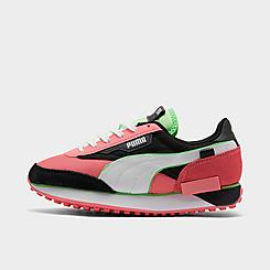 Women's Puma Future Rider Neon Play Pop Casual Shoes