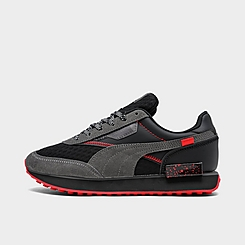 Boys' Big Kids' Puma Future Rider AM Casual Shoes