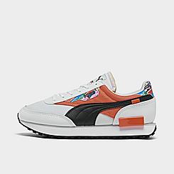 Women's Puma Future Rider International Game Casual Shoes