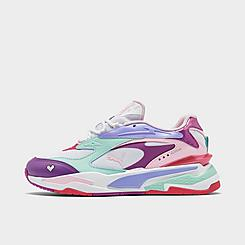 Girls' Big Kids' Puma RS-Fast Hearts Casual Shoes
