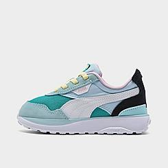 Girls' Toddler Puma Cruise Rider Casual Shoes