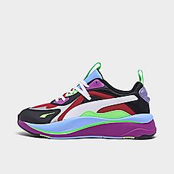 Women's Puma RS-Curve Berry Glitz Casual Shoes